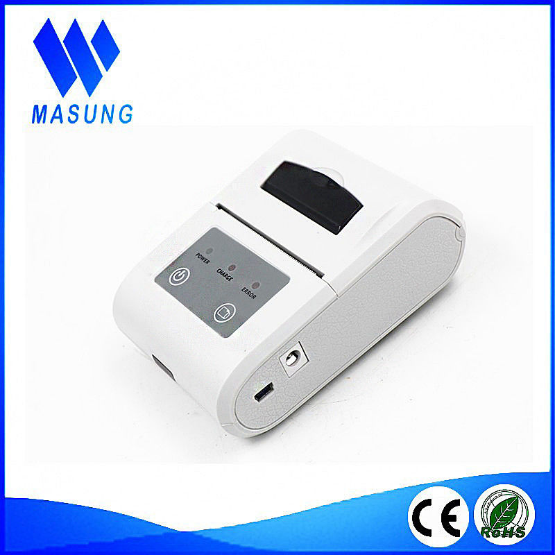 Handheld Small USB Thermal Receipt Printer 58mm Support RS232 , Dot Line Portable Ticket Printer