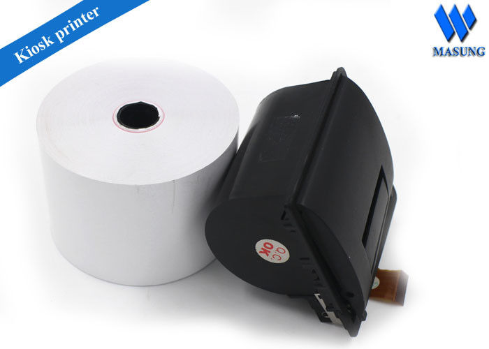 Compact Kiosk Thermal Printer Portable , 58 Mm Mobile Ticket Printer