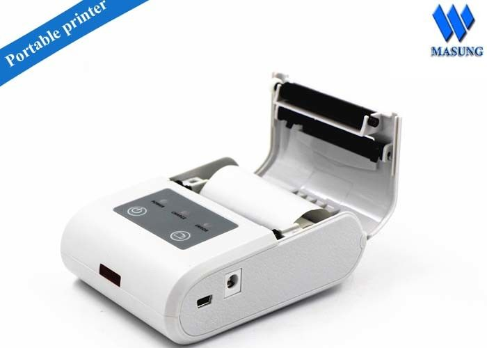 Pocket Medical Infrared Kiosk Ticket Printers / Wireless Thermal Receipt Printer